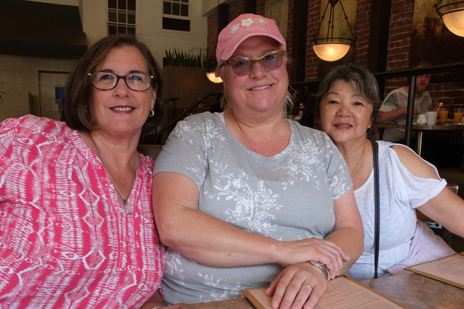 Susan, Trish, Jen Half Moon Bay Cruise Out Sept 13-15, 2019