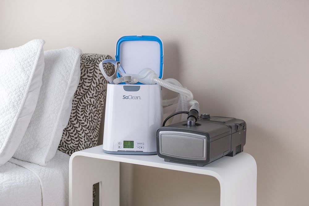 SoClean automatic CPAP cleaner