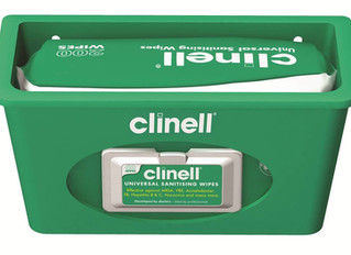 Clinell Wipes for cleaner CPAP masks