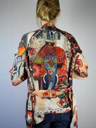 Kimono en soir sur mesure