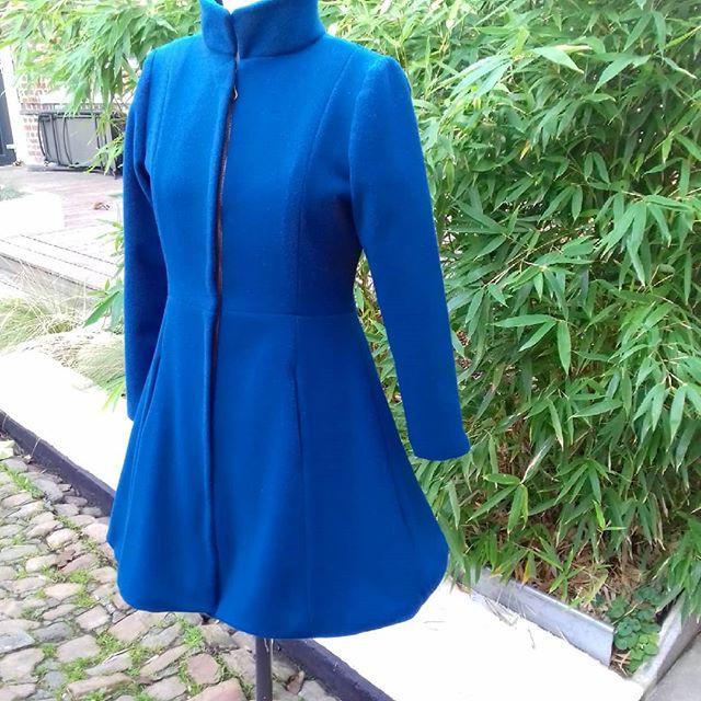Manteau en laine sur mesure