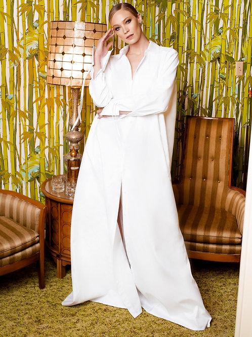 KOXJB Design Long White Shirt/Dress