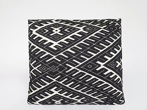 Black/White Tribal Pillow