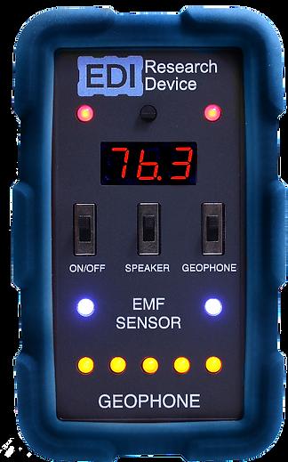 ghost hunting geophone emf detector kit motion detector