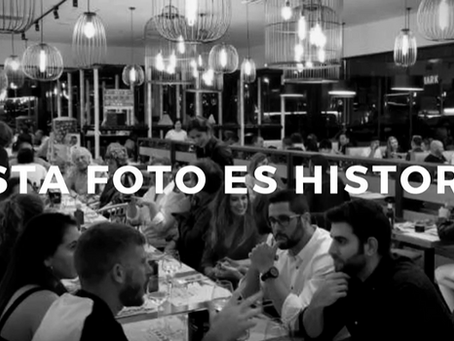 Fotos historicas de Restaurantes pre covid.19