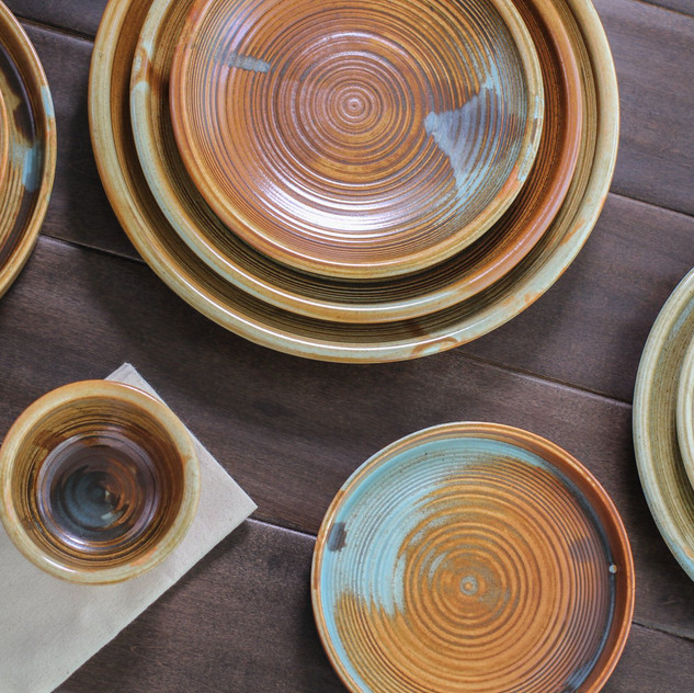 Fired Earth Glaze Nourish Collection