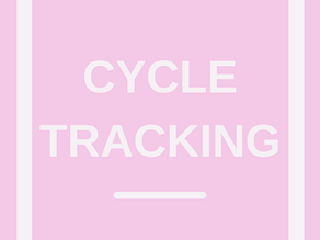 Cycle tracking your exercise routine
