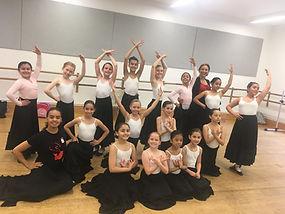 Ballet Hispanico Class