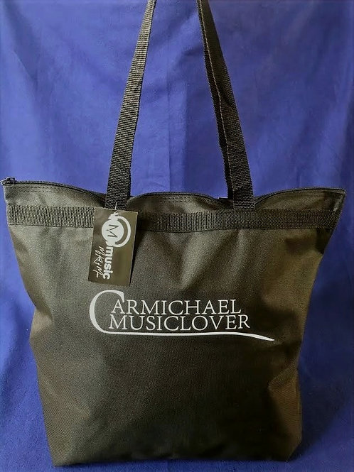 All Purpose Solid Tote with zipper