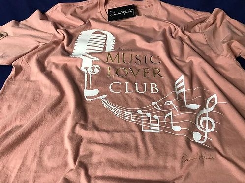 The Music Lover Club - Desert Pink Soft Style