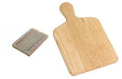 Circuit on a breadboard