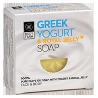 Bodyfarm Greek Yogurt & Royal Jelly Soap 110g