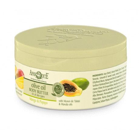 APHRODITE Nourishing Body Butter with Mango & Papaya 200ml