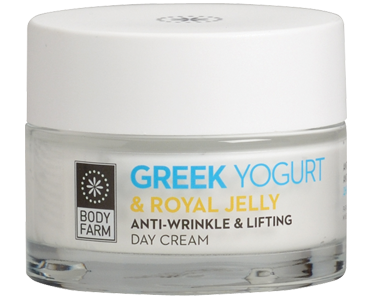 Bodyfarm Greek Yogurt & Royal Jelly Anti-wrinkle &Lifting Day Cream 50ml