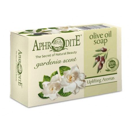APHRODITE Olive oil soap with Gardenia scent 100g