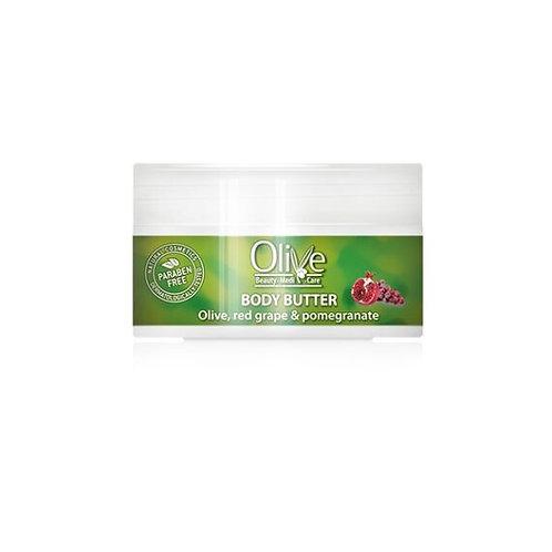 Minoan Life Body Butter – Olive, Red Grape & Pomegranate 150ml