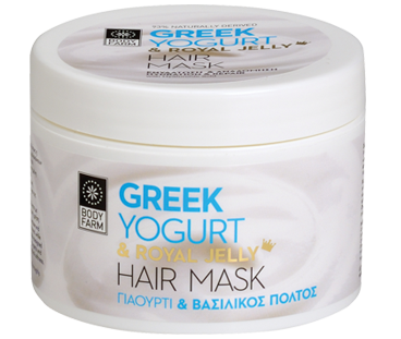 Bodyfarm Greek Yogurt & Royal Jelly Hair Mask  200ml