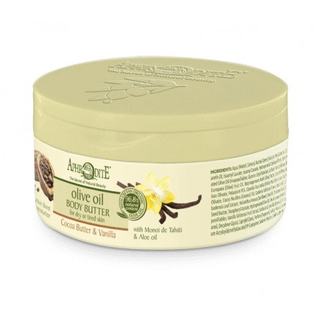 APHRODITE Deeply Hydrating Body Butter with Cocoa butter & Vanilla 200ml