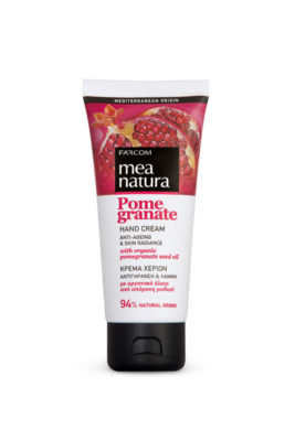Mea Natura Pomegranate Hand Cream Anti-Ageing & Skin Radiance 100ml