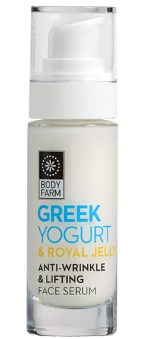 Bodyfarm Greek Yogurt & Royal Jelly Anti-wrinkle &Lifting Face Serum 30ml