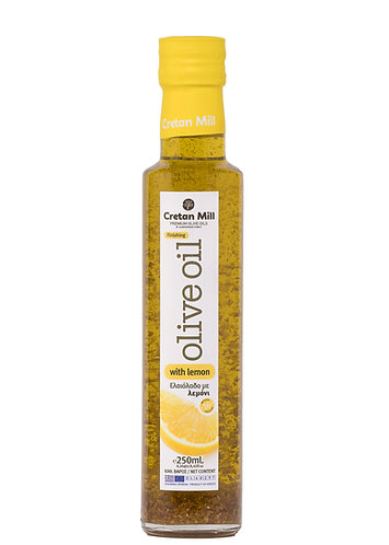 Olive Mill Olive Oil with Lemon 250ml