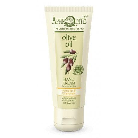 APHRODITE Velvety Soft Hand Cream with Avocado & Chamomile 75ml