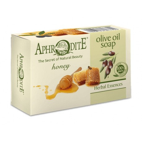 APHRODITE Olive oil soap with Honey 100g