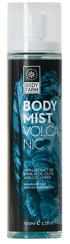 Bodyfarm Volcanic Body Mist 100ml