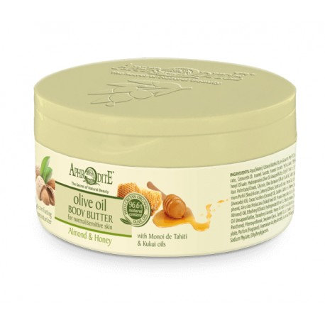 APHRODITE Comforting Body Butter with Almond & Honey 200ml