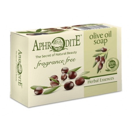 APHRODITE Pure olive oil soap Fragrance Free 100g