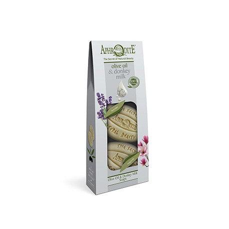 APHRODITE 2 Olive Oil & Donkey Milk Soaps Pack