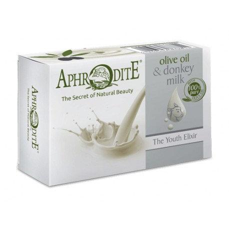 APHRODITE The Youth Elixir Olive oil & Donkey Milk soap 100g