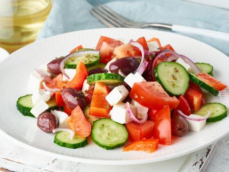 Original Greek Salad (horiatiki)
