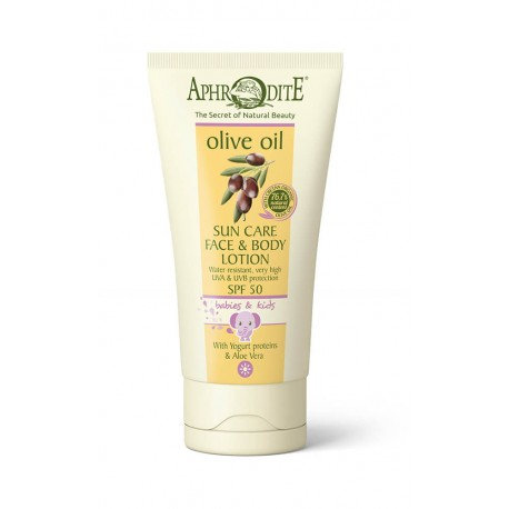 APHRODITE Sun Care Face & Body Lotion For Babies & Kids SPF 50
