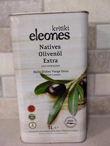 Kritikoi Elaiones Extra Virgin Olive OIl 3L