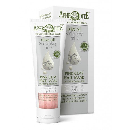 APHRODITE Anti-Wrinkle & Anti-Pollution Pink Clay Face Mask