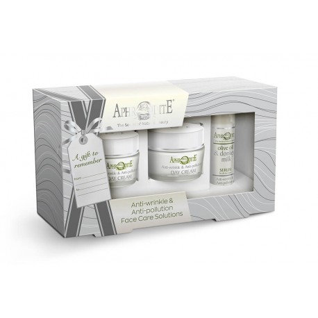 "APHRODITE Face Care ""Anti-wrinkle & Antipollution"" Gift Set"