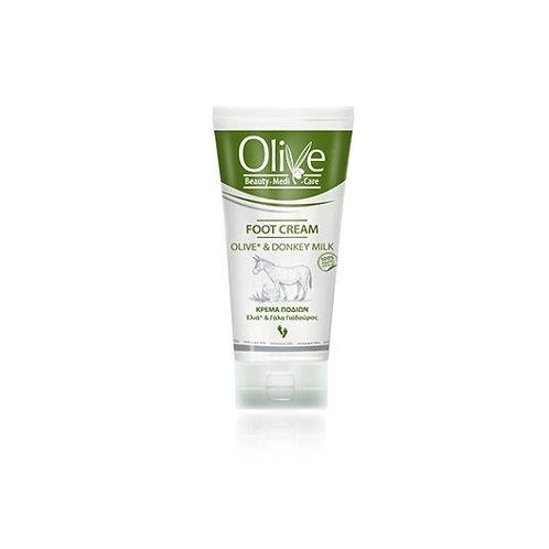 Minoan Life Foot Cream – Olive & Donkey Milk 100ml