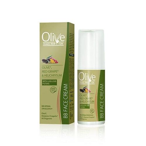 Minoan Life BB Face Cream – Olive, Red Grape & Helichrysum 50ml