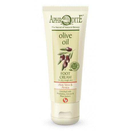 APHRODITE Extra soft Foot Cream with Aloe Vera & Prebiotics for dry/rough skin
