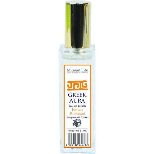 Greek Aura Eau de Toilette – Ionian Kumquat 30ml