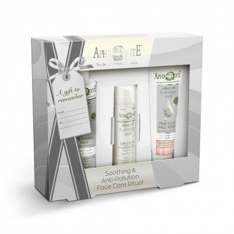 """APHRODITE Face Care """"Soothing & Antipollution"""" Gift Set"""
