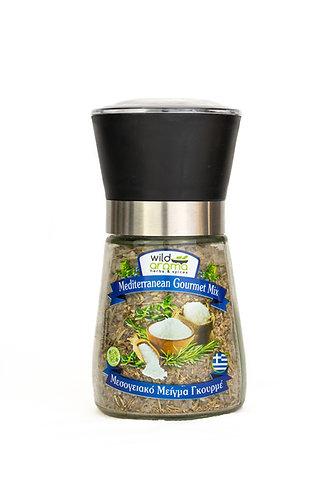 Wild Aroma Mediterranean Gourmet Mix Mill 130g