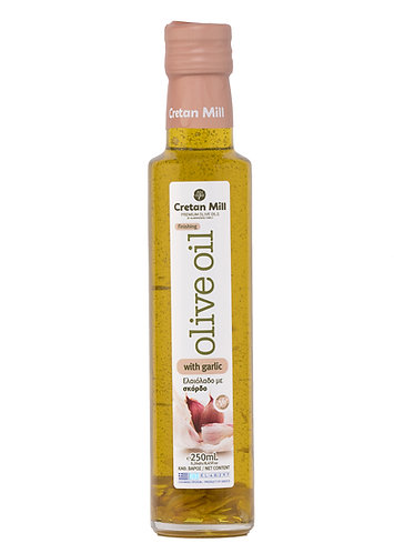 Olive Mill Olive Oil with Garlic 250ml