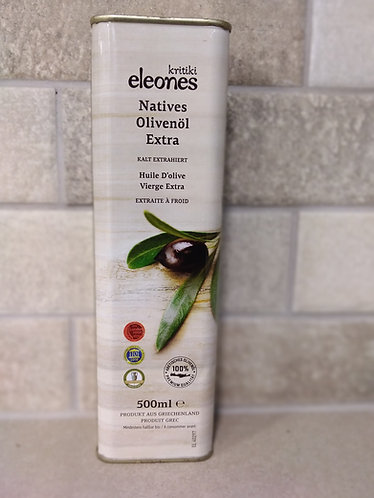 Kritikoi Elaiones Extra Virgin Olive OIl 500ml
