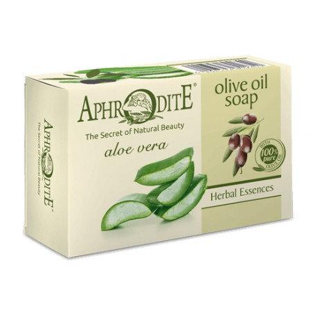APHRODITE Olive oil soap with Aloe Vera 100g