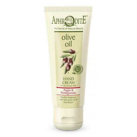 APHRODITE Youthful Radiance Hand Cream with Argan & Pomegranate 75ml
