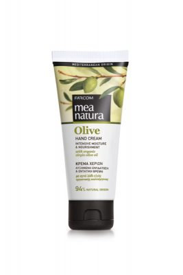 Mea Natura Olive Hand Cream Intensive Moisture & Nourishment 100ml