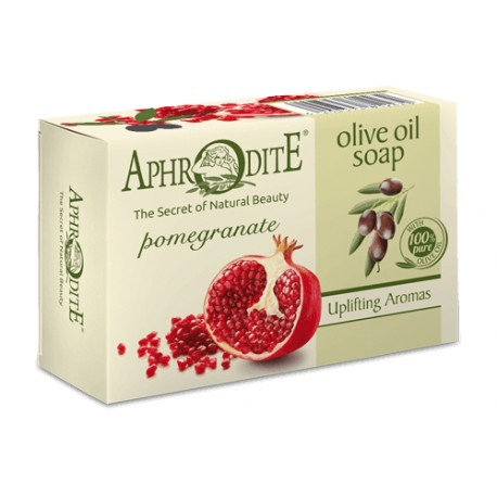 APHRODITE Olive oil soap with Pomegranate 100g