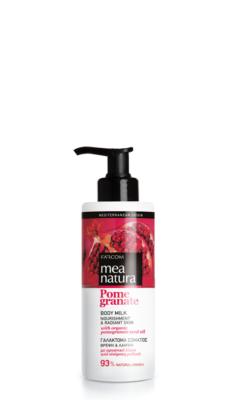 Mea Natura Pomegranate Body Milk Nourishment & Radiant Skin 250ml